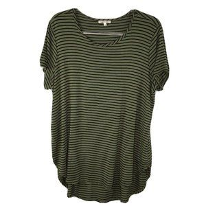 Maurices Plus Size 0 14 Short Sleeve Tee Green